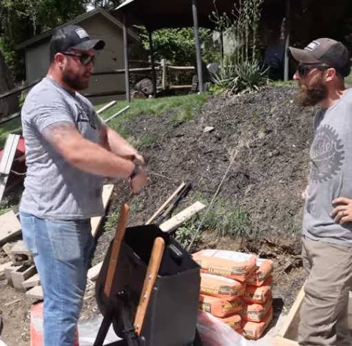 John Malecki on How To Pour Concrete Stairs Featuring the Steele Mixer
